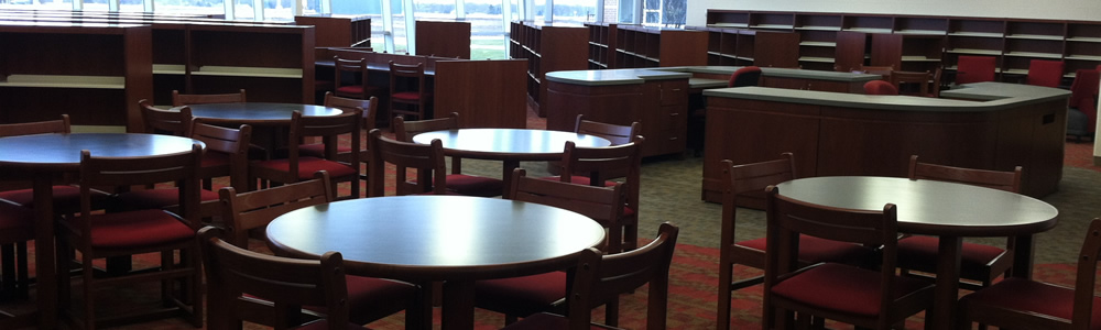 Library and Cafeteria Seating