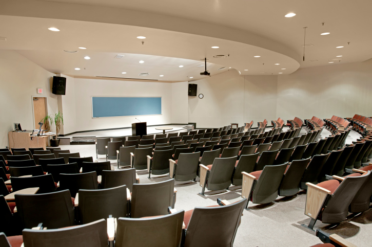 Lecture hall seating. Call Carroll today!