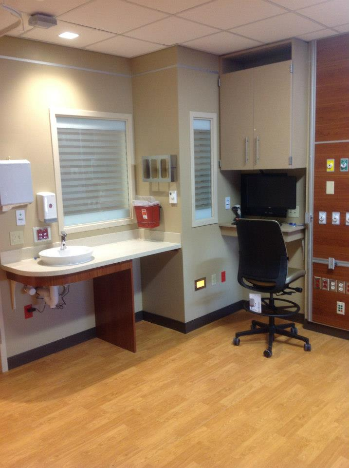 Built ins for medical casework and other uses. Call Carroll Seating today!