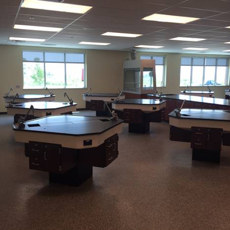 Creating a Better Lab with Modular Casework by Carroll Seating Company