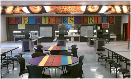 Outfit your school with new cafeteria tables by Carroll Seating Company