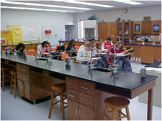 school lab tables by carroll seating company