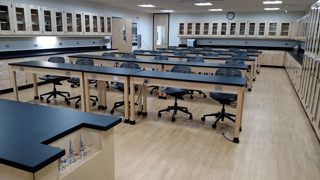 lab casework by Carroll Seating Company
